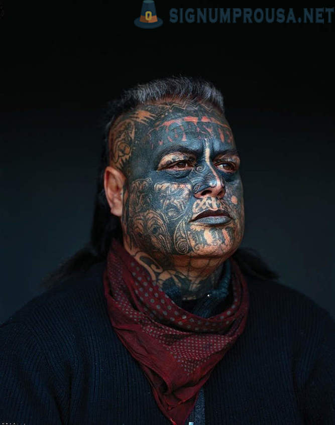 Brutal New Zealand skupina Mighty Mongrel Mob